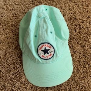 Teal converse hat